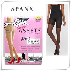 Spanx Assets Sheers High-Waist Shaping Pantyhose